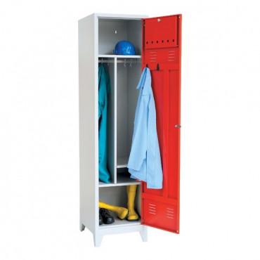 Vestiaire pompier, 1 case, H205xL50xP55cm
