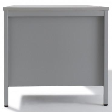 Bureau demi-ministre 3 tiroirs Largeur 160cm