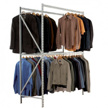 Rayonnage vêtements pour aménager vos stocks ou magasins.