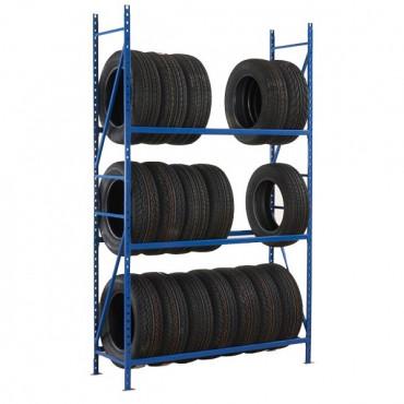 Rayonnage pneus pour ranger et stocker vos charges rondes.