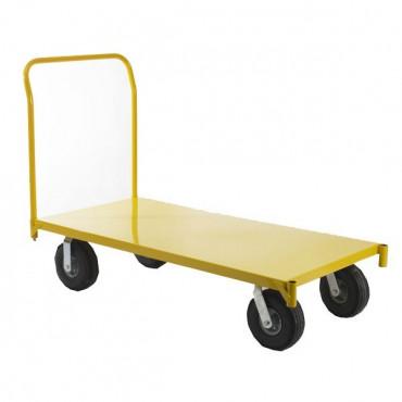 Chariot de manutention, 1 plateau, capacité 750 kg