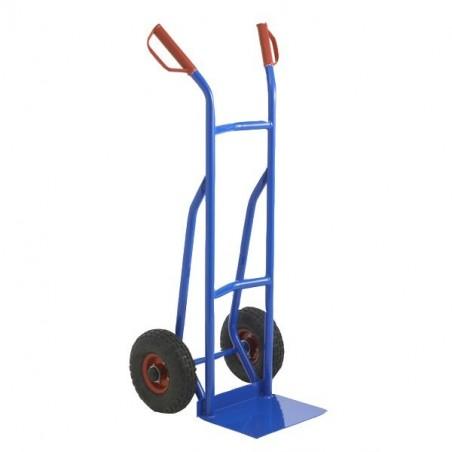 Diable polyvalent, roues pneumatiques, capacité 350kg