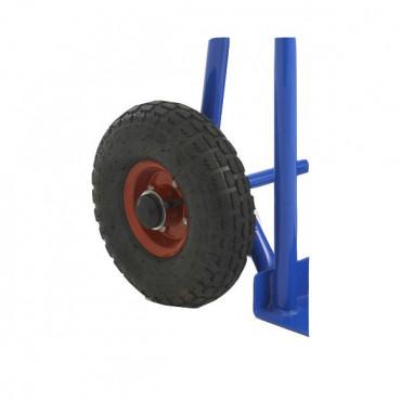 Diable roue pneumatique et polyvalent pour entreprise avec Negostock
