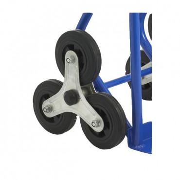 Diable roue etoile pour escalier avec Negostock