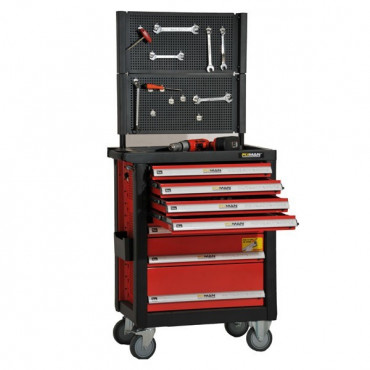 Servante d'atelier complète avec outils - Entrepôt - Negostock