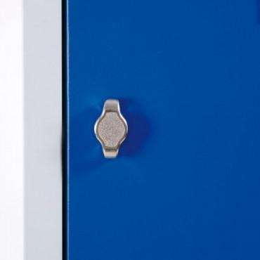 Vestiaire industriel bi place métallique pour entreprise Negostock