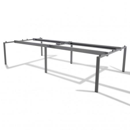 Bench de 4 bureaux pour open space - Gamme Pure
