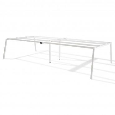 bench de 4 bureaux pour open space - Gamme Actea