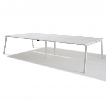 bench de 6 bureaux pour open space - Gamme Actea