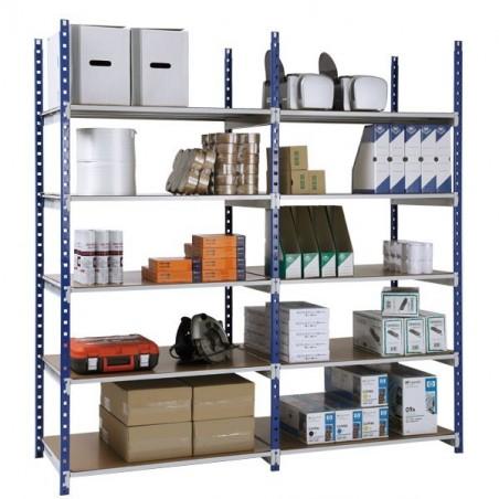 Rayonnage magasin hauteur 2.20M, cap 150/200kg