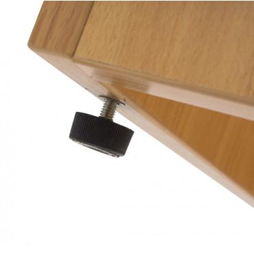 Armoire portes battantes en bois Hauteur 73cm