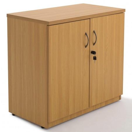 Armoire portes battantes en bois, H73xL80xP45cm