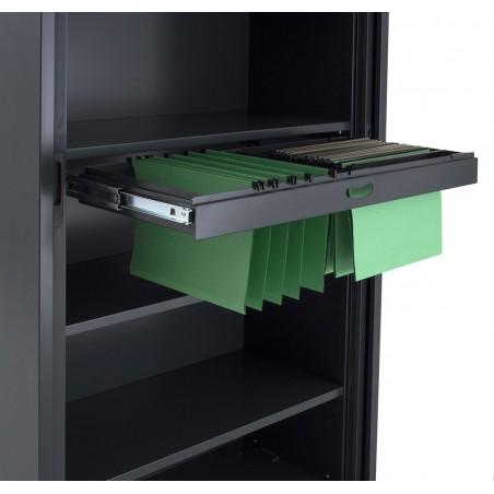 rail dossier suspendu pour armoire rideau negostock. Black Bedroom Furniture Sets. Home Design Ideas