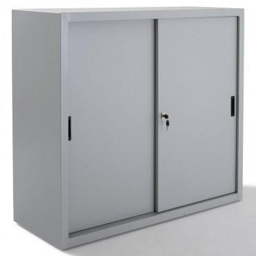 Armoire Porte Coulissante Hauteur 1m05 - Negostock