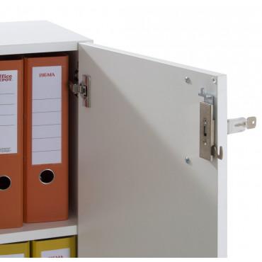 Armoire basse bout de bureau, hauteur 109cm - Mobilier de Bureau