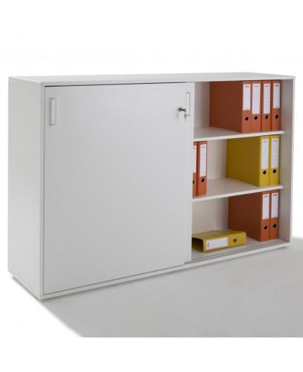 Armoire porte coulissante 2 portes - Armoire 2 portes coulissantes blanc ...