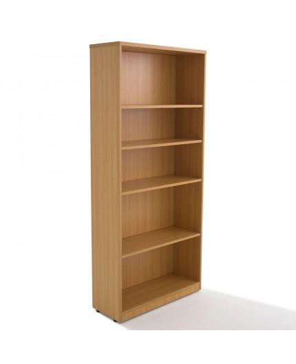 Armoire bibliothèque en bois, hauteur 180 cm - Negostock