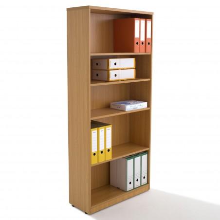 Armoire bibliothèque en bois, H180xL80xP31.50cm