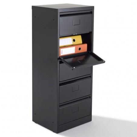 Meuble clapet 10 cases mobilier de bureau negostock for Meuble 5 cases