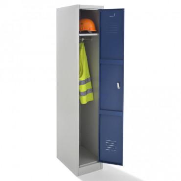 Vestiaire propre, armoire métallique monobloc propre 1 case.