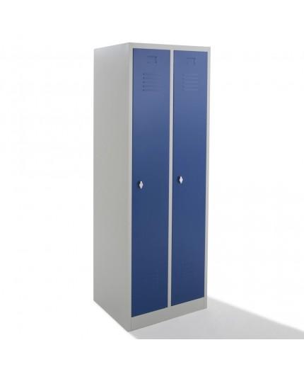 Vestiaire propre monobloc, armoires vestiaires industrie 2 cases