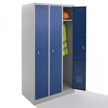 Vestiaire propre - monobloc - 3 cases