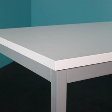 Table de bureau modulaire L180xP80cm - Negostock.