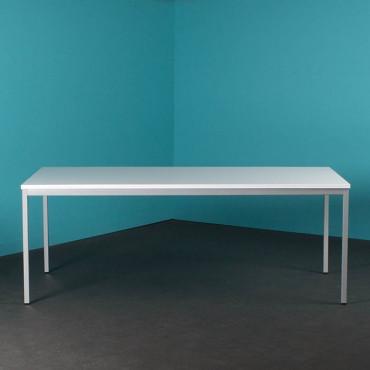 Table de bureau rectangulaire L200xP100cm - Negostock