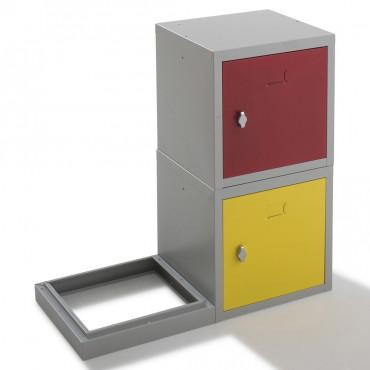 Vestiaire métallique multibox pour entreprise avec Negostock