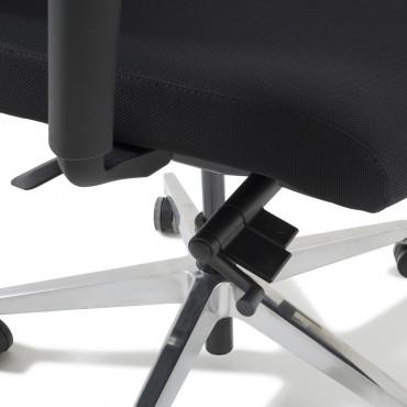 Fauteuil de bureau ergonomique Olly - Mobiler Negostock